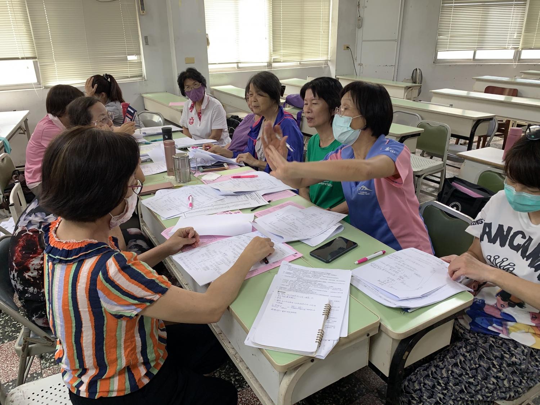 9/18志工幹部、行政會議,工作職掌分配圖片9